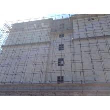 revestimiento de pared exterior de panel de pared de piedra de mármol falso