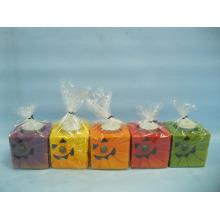Хэллоуин свеча формы керамических ремесел (LOE2372C-7z)
