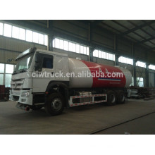 Hot selling china lpg tank truck,Howo 4*2 LPG gas tank truck