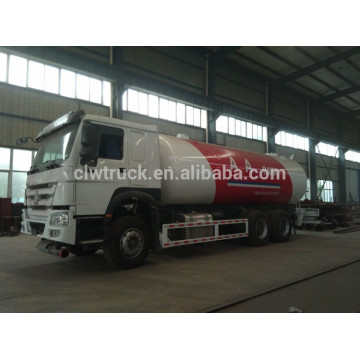 Hot selling china lpg tank truck,Howo 4*2 LPG gas tank truck
