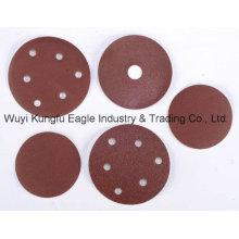 Velcro, lija de disco (óxido de aluminio)
