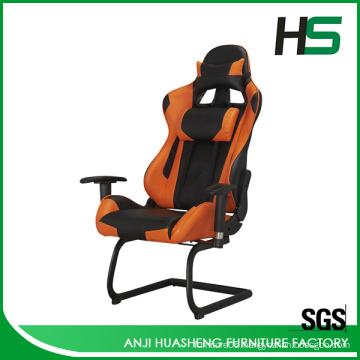 2016 Modern Orange Custom Racing Seat Chair Hot Selling in Europe