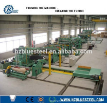 Full Automatic Hydraulic Steel Cold And Hot Rolled Coil Cut To Length Production Line