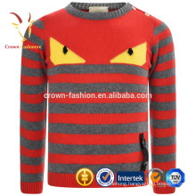 Stripe Cashmere Pullover Sweater Designs For Kids