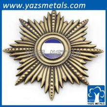 archaistic badges bronze colour