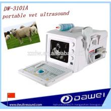 équipement diagnostique portatif d'ultrason vétérinaire de bas prix