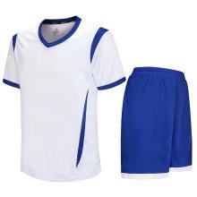 ajuste o uniforme completo do futebol da camisa do polo t dos homens