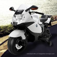 Bicicleta elétrica recarregável do motor das crianças de 2 rodas com rodas de treinamento