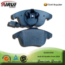 Seni-metallic car brake pad for Audi A5 Quattro Front 2010