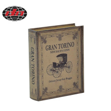 Carriage MDF Wooden Book Box