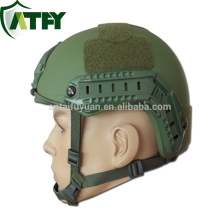 FAST High Cut Aramid helmet With Rails and Shroud Army Ballistic Helmet for sale