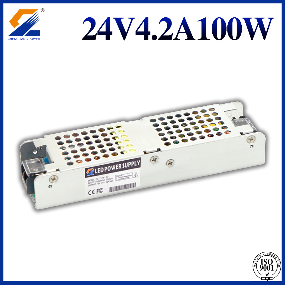 24V 4.2A 100W Slim LED Converter For LED Module