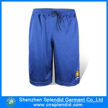 Shenzhen Moda Sportswear Algodão Canvas Dark Blue Mens Boxer Shorts