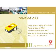 Cuadro de mantenimiento del pozo para el elevador (SN-EMG-04A)