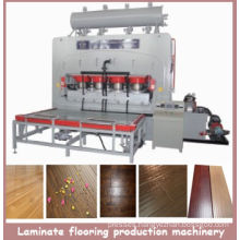 Short Cycle Melamine Laminate Flooring Production Line