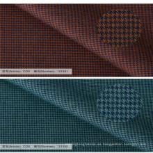 diseños de la camisa formal del último del tejido de tencel de la tela de algodón para los hombres