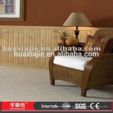 Wpc material de construção de madeira revestimento de parede / revestimento de parede