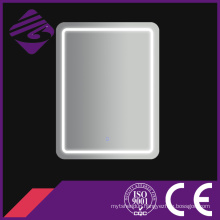 Double Sided Wall Mounted Chamfered Edge Bathroom Mirror with Light