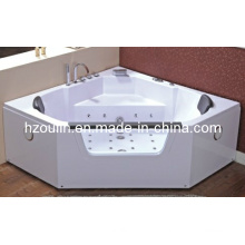 White Acrylic Sanitary Whirlpool Massage Bathtub (OL-643)