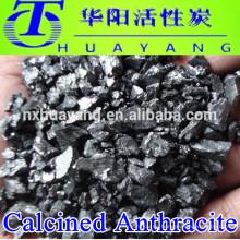 Aditivo de carbón / FC 92% calcinado precio del carbón de antracita