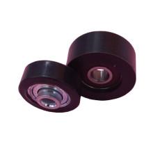 Rodillo de plástico miniatura Rodamiento rígido de bolas 6008 Ruedas de skate de poliuretano zz809 163110 2rs