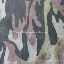 Tejido de algodón de camuflaje para uso militar con cheque (20X16 / 100X56)