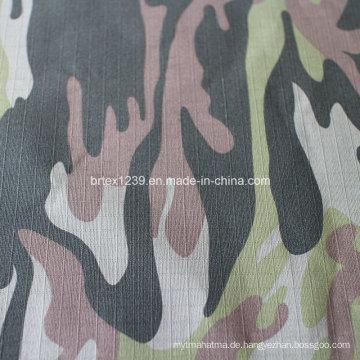 Baumwolltarnung Stoff für militärische Verwendung mit Check (20X16 / 100X56)