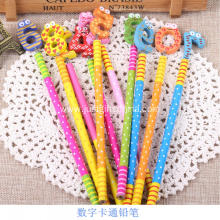 Promotional Cartoon Logo Pen W/Spring