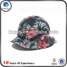 custom floral men summer bucket hats