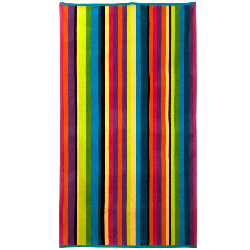 Large Cabana Stripe Beach Towels