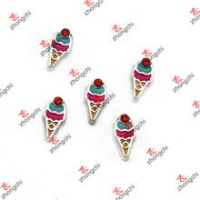 Congelado novo Cone flutuante encantos para crianças Locket (FC)