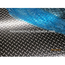 0.9-8.0mm 5 bars embossed aluminum plate/sheet price