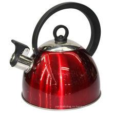 Нержавеющая сталь свист чайник с двойным дном