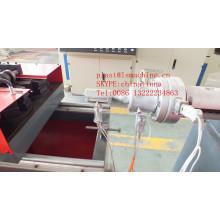 Una sola capa / doble capa PE plástico acanalado tubería línea Vasa