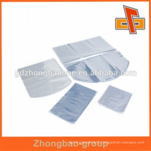 40 micron heat shrink pack plastic film in pieces for packaging
