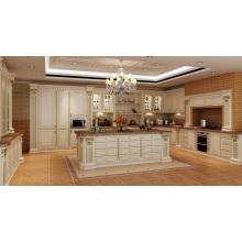 Gabinete de la cocina de la puerta del MDF de la oferta de la fábrica de 18years