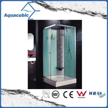 Cuarto de baño templado vidrio transparente simple ducha (AS-TS56)