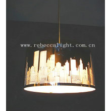 Modern Mirror Stainless Steel Pendant Lamp