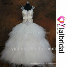 RSW204 Sequence Beads Laces Vestido de casamento