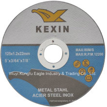 Disque de coupe pour Inox (125X1.2X22.2)