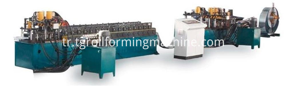 Curtain Damper Blade Roll Forming Machine