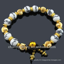 Ceramic Jewelry Porcelain Beads Bracelet BC-002