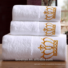 100% cotton plain design high quality bath towel