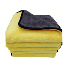 Double Layers New Microfiber Coral Fleece  Towel