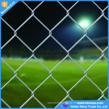 2016 hot sale product galvanized chain link fence for zoo / chainlink wire fence