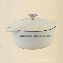 Diámetro 26cm del cookware del hierro fundido del OEM