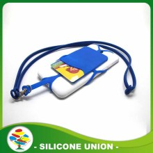 Promotional Silicone Smart Phone Case With Lanyard