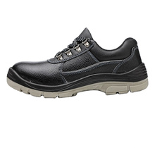 Steel toe  Genuine Leather safety boots and shoes Steel toe Genuine Leather safety boots and shoes