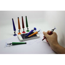 Novelty Umbrella-Shaped Twist Touch Pen