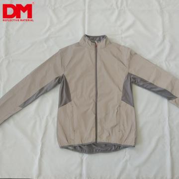Hi-vis ultra suave tela de tela exterior reflectante para chaqueta de moda / abrigo al aire libre / bufanda / bolso / zapatos